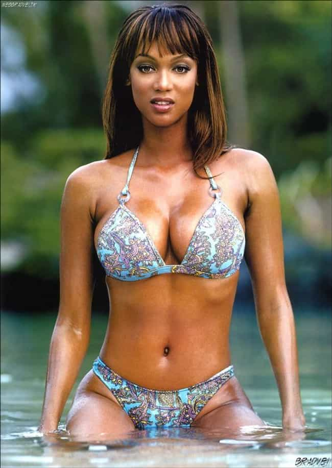 Tyra Banks Emerges from the Sw... is listed (or ranked) 2 on the list The Hottest Tyra Banks Photos of All Time