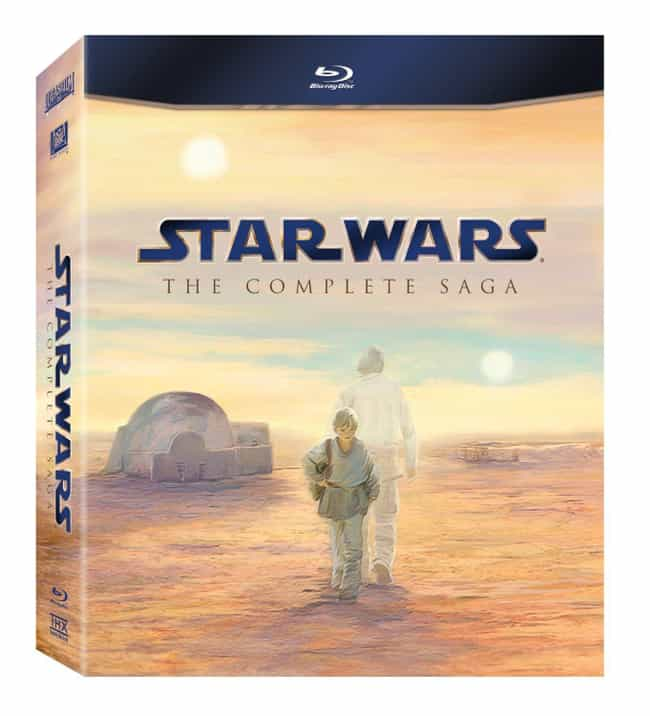 Star Wars: the Complete Saga is listed (or ranked) 3 on the list 43 Star Wars Gifts Your Nerd Will Love