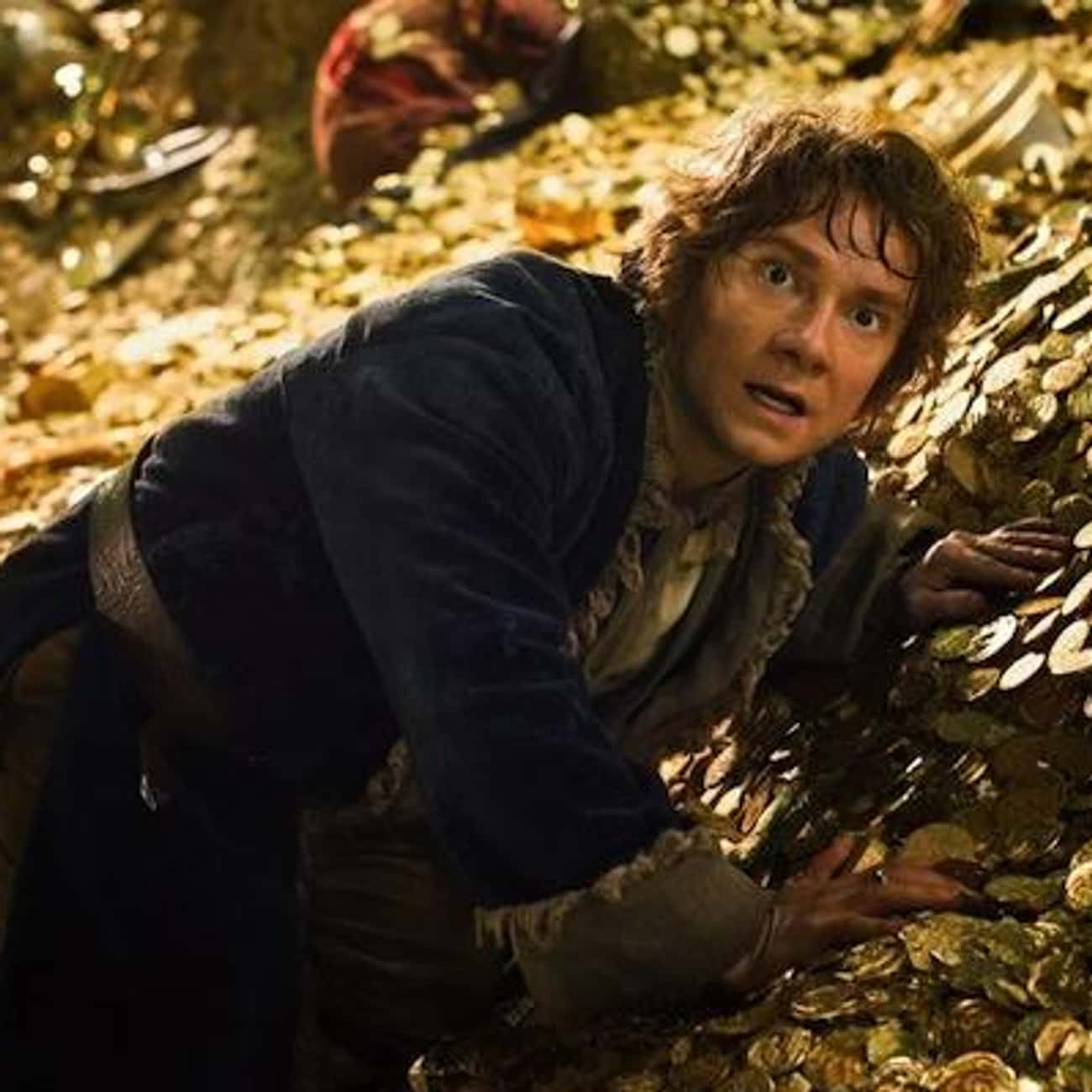 I Found Something is listed (or ranked) 1 on the list The Hobbit: The Desolation of Smaug Movie Quotes