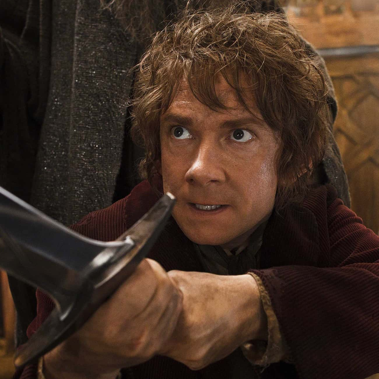 Don't Be Shy is listed (or ranked) 2 on the list The Hobbit: The Desolation of Smaug Movie Quotes