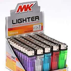 MK is listed (or ranked) 16 on the list The Best Lighter Brands