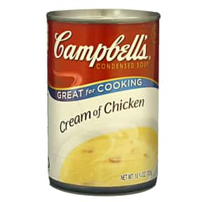 Campbell's Cream of Chicke is listed (or ranked) 5 on the list The Best Kinds of Campbell's Soups That Are Mmm, Mmm Good