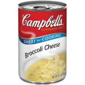 Campbell's Broccoli Cheese is listed (or ranked) 13 on the list The Best Kinds of Campbell's Soups That Are Mmm, Mmm Good