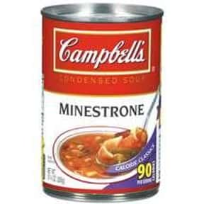 Campbell's Minestrone is listed (or ranked) 25 on the list The Best Kinds of Campbell's Soups That Are Mmm, Mmm Good