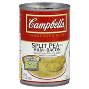 Campbell's Split Pea With  is listed (or ranked) 12 on the list The Best Kinds of Campbell's Soups That Are Mmm, Mmm Good