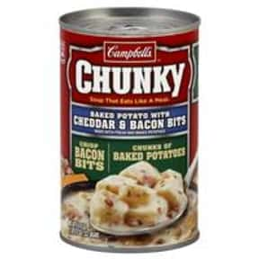 Campbell's Chunky Baked Po is listed (or ranked) 16 on the list The Best Kinds of Campbell's Soups That Are Mmm, Mmm Good