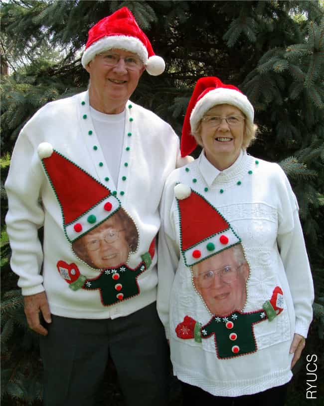 Because They Don't See E... is listed (or ranked) 1 on the list The Ugliest Christmas Sweaters of All Time