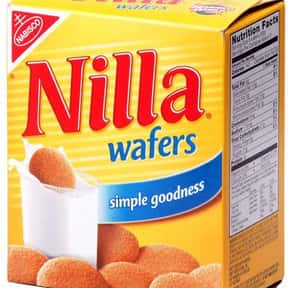 Nilla is listed (or ranked) 9 on the list The Best Cookie Brands