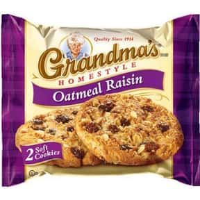 Grandma's is listed (or ranked) 12 on the list The Best Cookie Brands