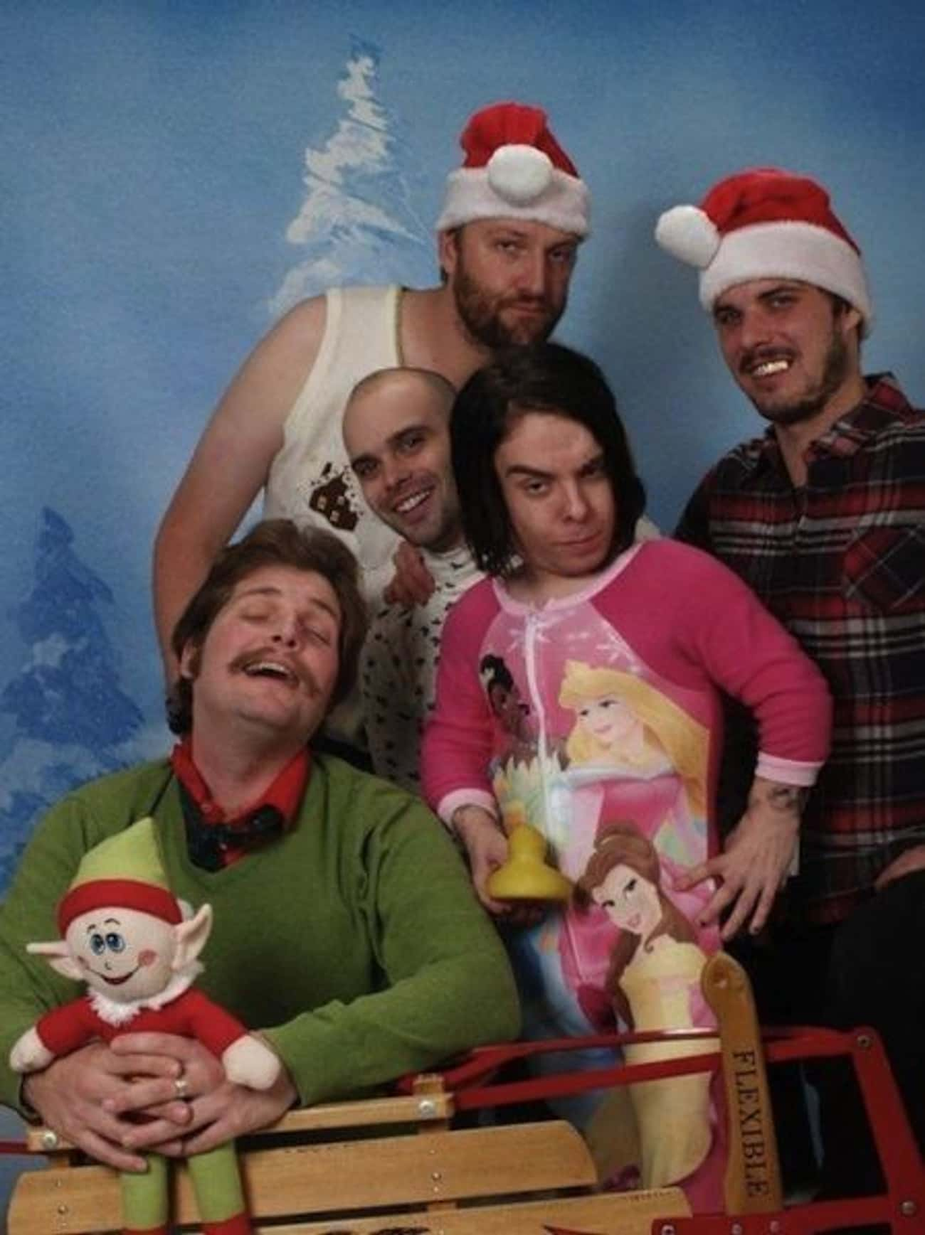 The Nightmare Before Christmas is listed (or ranked) 2 on the list Awkwardly Hilarious Family Christmas Photos
