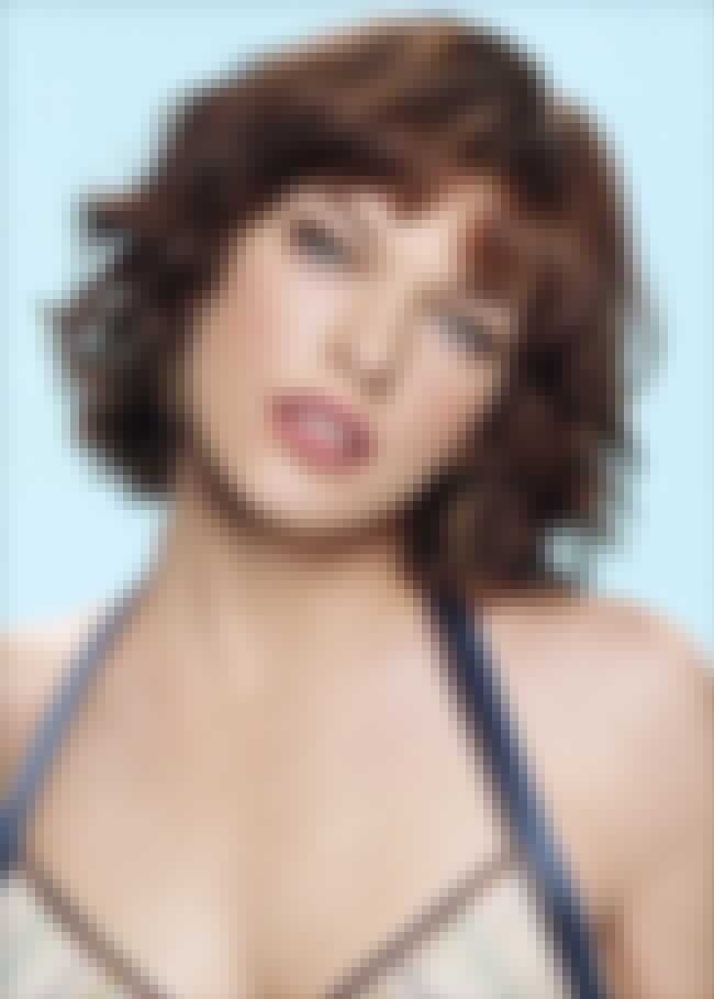 Shiny Shiny Lips is listed (or ranked) 4 on the list The 41 Hottest Milla Jovovich Photos