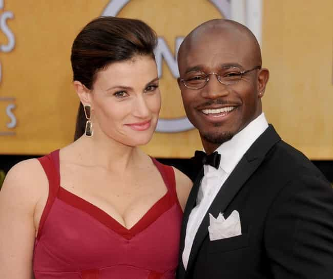 Taye Diggs and Idina Men... is listed (or ranked) 2 on the list Celebrity Breakups 2013: Celeb Couples Who Split in 2013