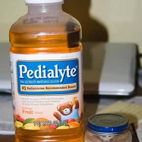 Pedialyte is listed (or ranked) 9 on the list The Best Food For A Hangover