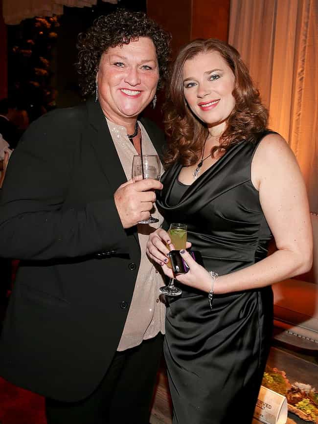Dot-Marie Jones and Bridgett C... is listed (or ranked) 4 on the list Celebrity Weddings 2013: List of Famous Marriages