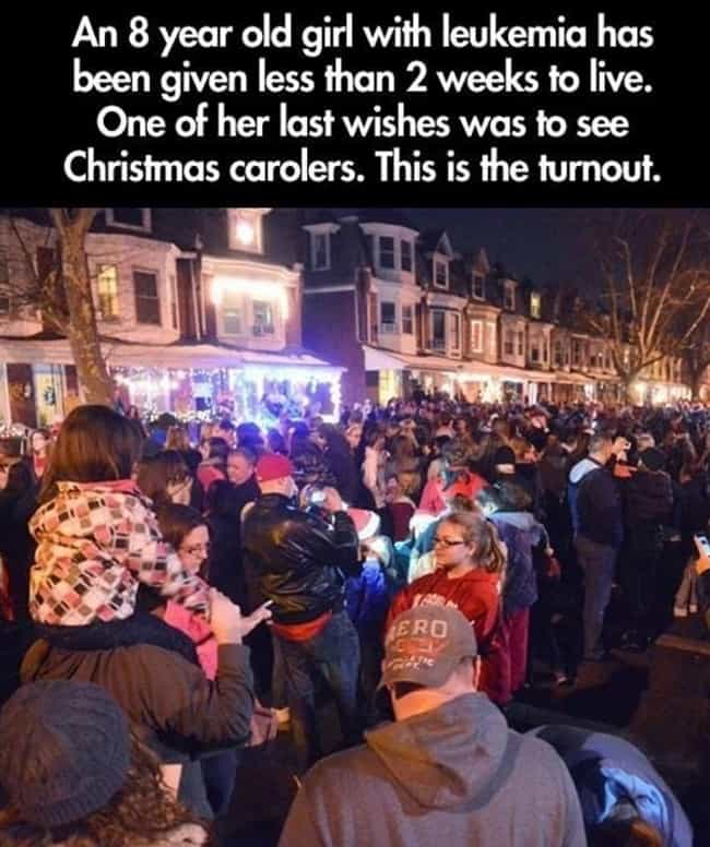 Joy to the World is listed (or ranked) 1 on the list 20 Heartwarming Random Acts of Kindness Caught on Camera