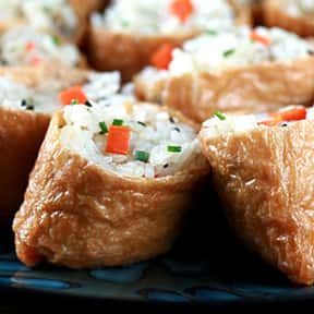 Inari is listed (or ranked) 11 on the list The Best Types of Japanese Food