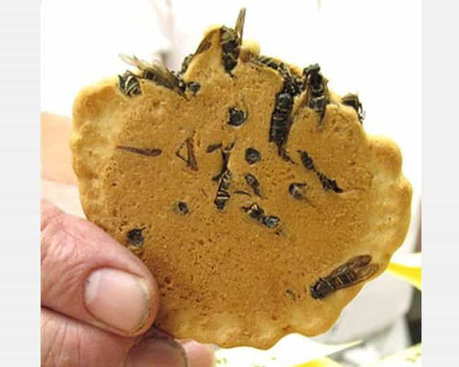 Wasp Crackers is listed (or ranked) 1 on the list 20 Utterly Bizarre Japanese Snack Foods That Actually Exist