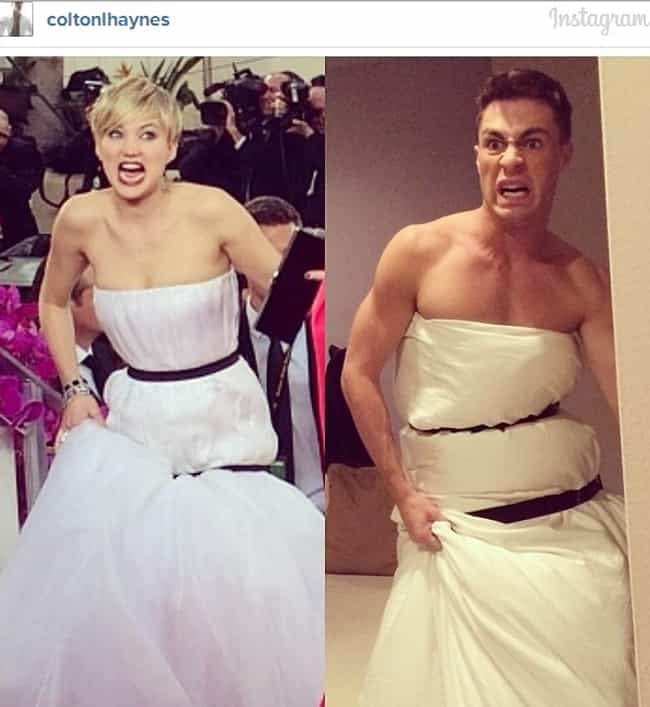 Who Wore It Better? is listed (or ranked) 2 on the list Jennifer Lawrence's Dress Inspires 'Lawrencing' Meme