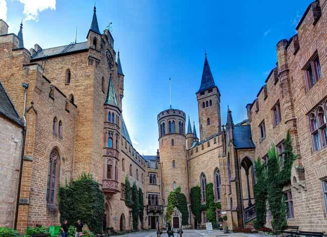 Hohenzollern Castle is listed (or ranked) 4 on the list The Most Beautiful Castles in Europe