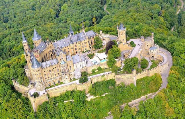 Hohenzollern Castle is listed (or ranked) 3 on the list The Most Beautiful Castles in Europe