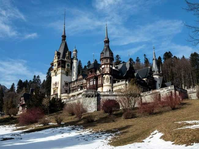 Peles Castle is listed (or ranked) 1 on the list The Most Beautiful Castles in Europe
