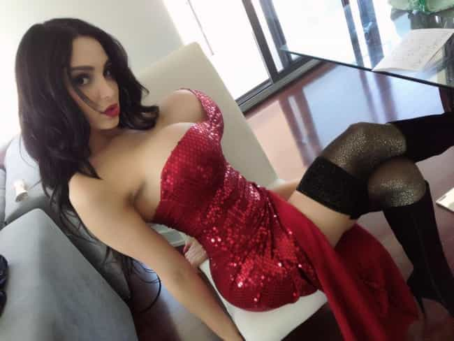Amy Anderssen is listed (or ranked) 4 on the list Celebrity Jessica Rabbit Look Alikes
