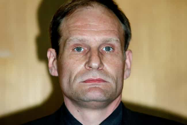 Armin Meiwes, The Man Who Ate ... is listed (or ranked) 2 on the list 13 Real Things Straight Out Of Horror Movies