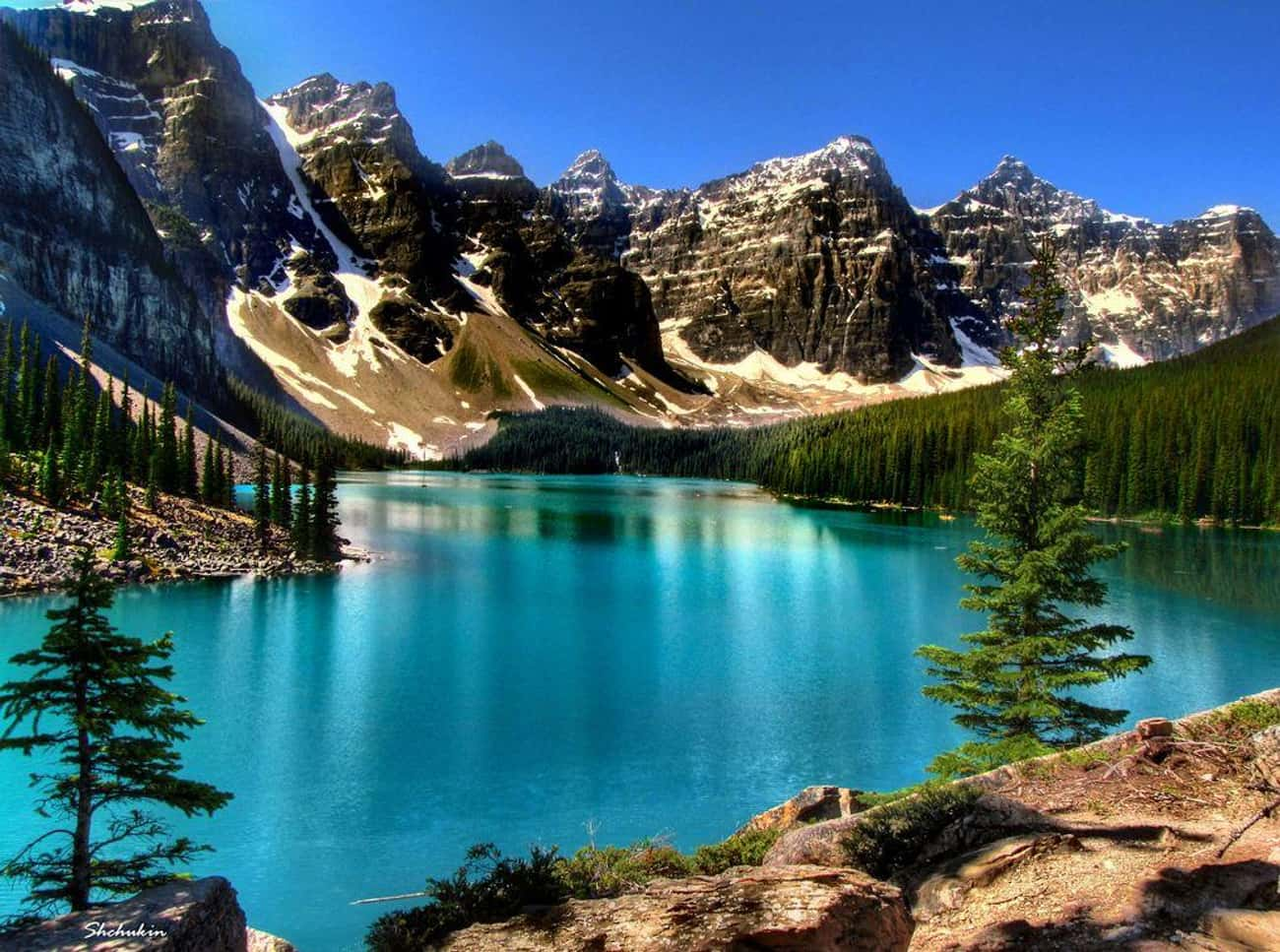 Canadian Rockies is listed (or ranked) 1 on the list The Most Stunningly Gorgeous Places on Earth