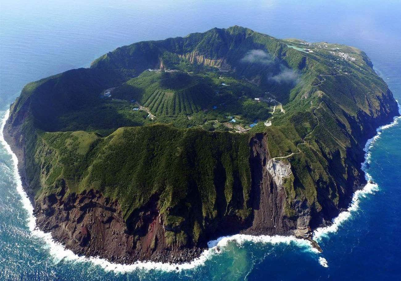 Aogashima Volcano is listed (or ranked) 4 on the list The Most Stunningly Gorgeous Places on Earth