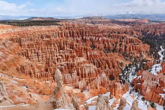 Bryce Canyon is listed (or ranked) 7 on the list The Most Beautiful Places In America
