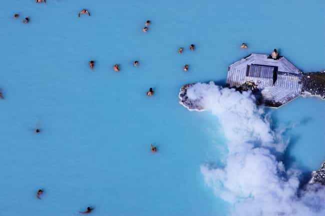 Blue Lagoon Geothermal S... is listed (or ranked) 3 on the list The Biggest Swimming Pools in the World