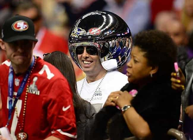 This 49ers Fan Is Going Into O... is listed (or ranked) 4 on the list The 19 Craziest Super Bowl Fans of All Time