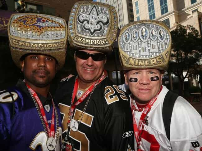 Rings for Everyone is listed (or ranked) 3 on the list The 19 Craziest Super Bowl Fans of All Time