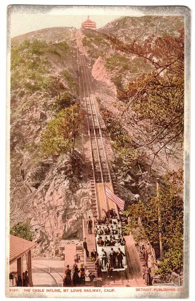 Mt. Lowe Railway is listed (or ranked) 3 on the list The 10 Coolest Historical Ruins in the LA Mountains