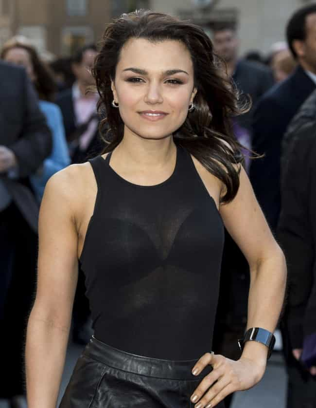 Hottest Samantha Barks Photos