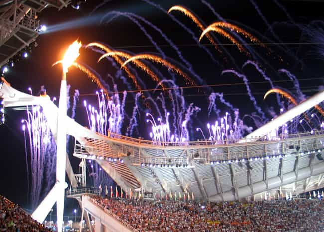 2004 Summer Olympics - Athens,... is listed (or ranked) 2 on the list The Best Opening Ceremonies in Olympics History