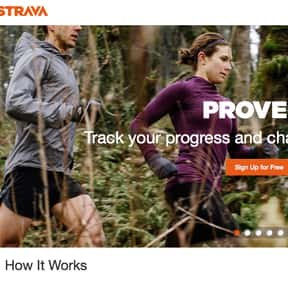 Strava.com is listed (or ranked) 2 on the list Running Communities and Social Networks, Best to Worst