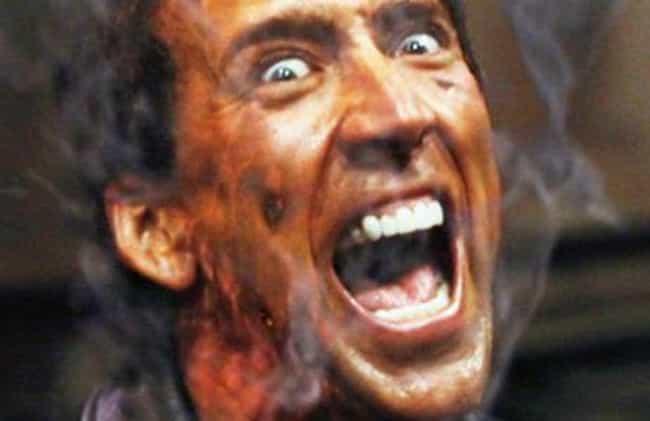 Nicolas Cage As Johnny Blaze