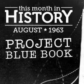 Project Blue Book is listed (or ranked) 4 on the list The Best Documentaries About Aliens