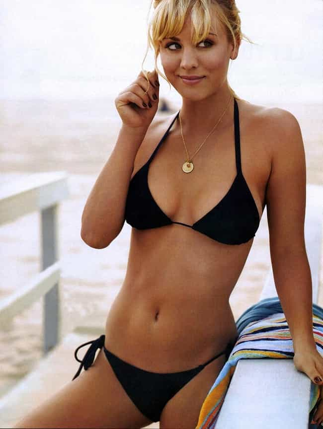 Kaley Cuoco in Black Bikini is listed (or ranked) 3 on the list Kaley Cuoco Bikini Pictures