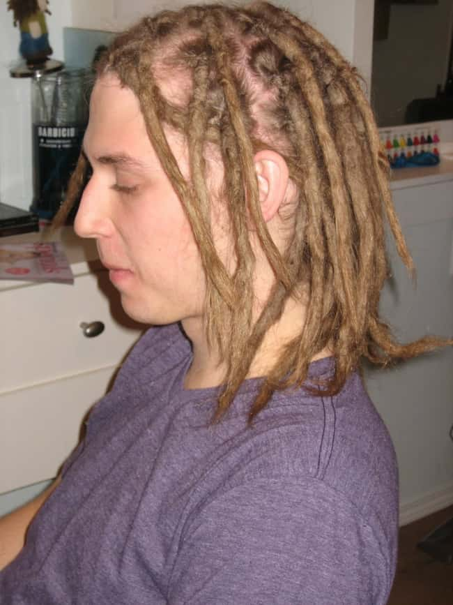 White Guy Dreadlocks is listed (or ranked) 8 on the list The Absolute Worst Hairstyles of All Time