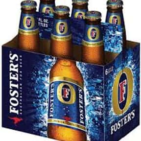 Fosters Lager is listed (or ranked) 17 on the list The Best Keg Beers