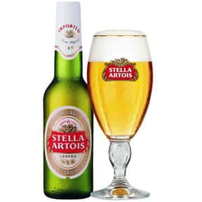 Stella Artois Lager is listed (or ranked) 1 on the list The Best Beers for a Party