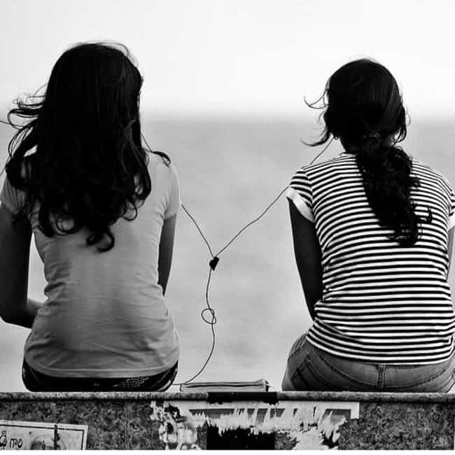They've Seen Everything ... is listed (or ranked) 2 on the list The 5 Signs of a True Best Friend