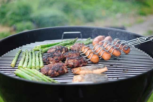 Backyard BBQ is listed (or ranked) 4 on the list 50th Birthday Party Ideas