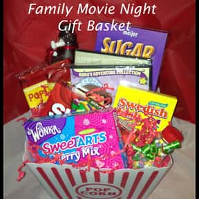 Movie Night is listed (or ranked) 5 on the list Fun Gift Basket Ideas