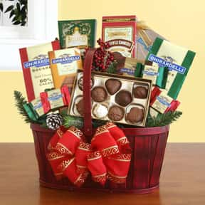 Chocolate is listed (or ranked) 7 on the list Fun Gift Basket Ideas
