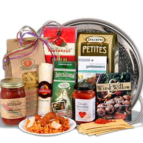 Italian Cooking is listed (or ranked) 9 on the list Fun Gift Basket Ideas