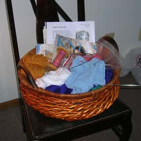 Knitting Supplies is listed (or ranked) 11 on the list Fun Gift Basket Ideas