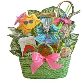 A Day at the Beach is listed (or ranked) 12 on the list Fun Gift Basket Ideas